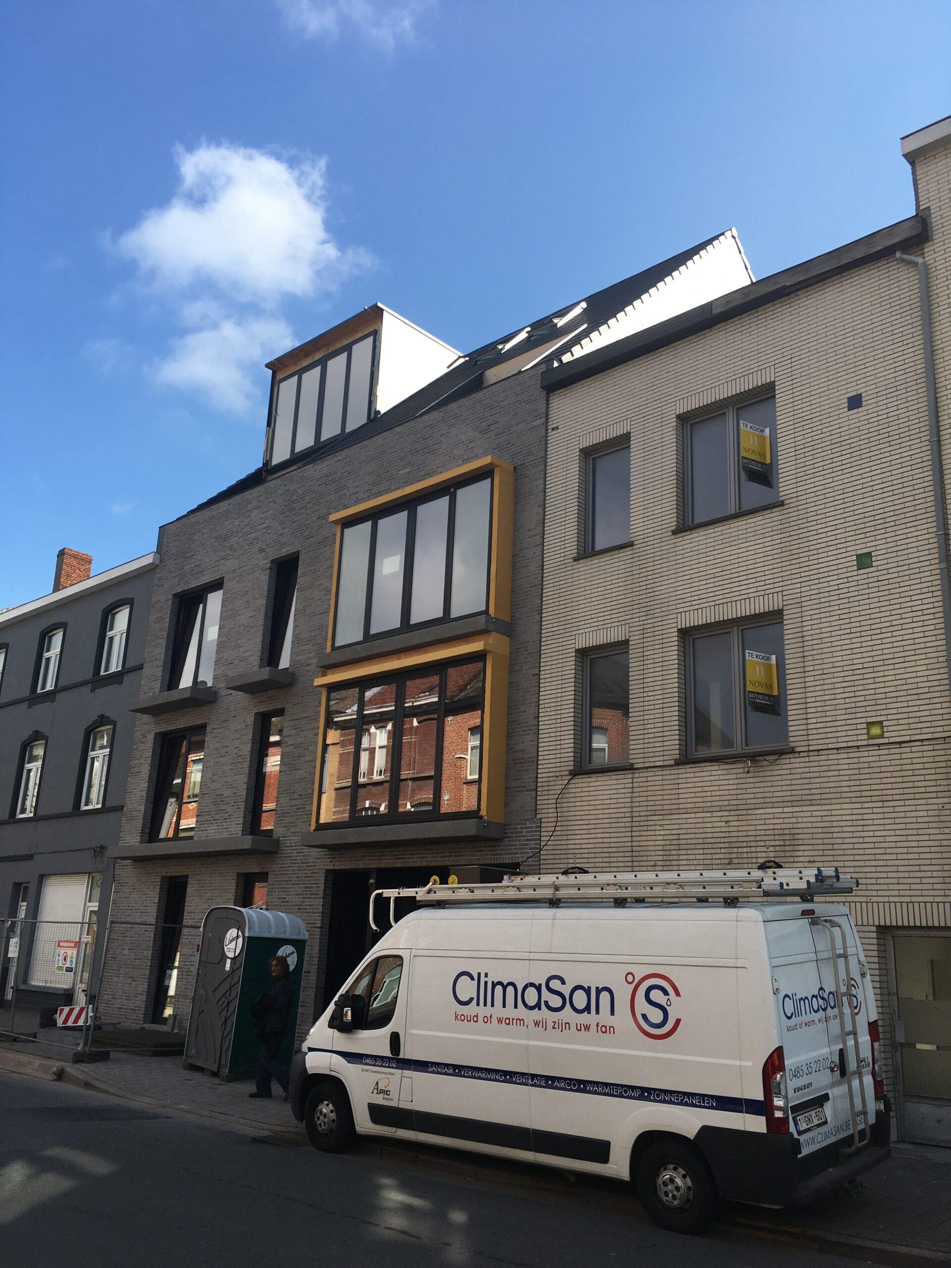 2 ClimaSan appartementen Gent