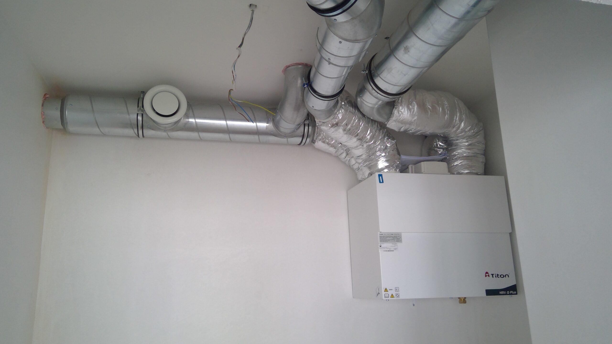 ClimaSan appartementen Gits ventilatie