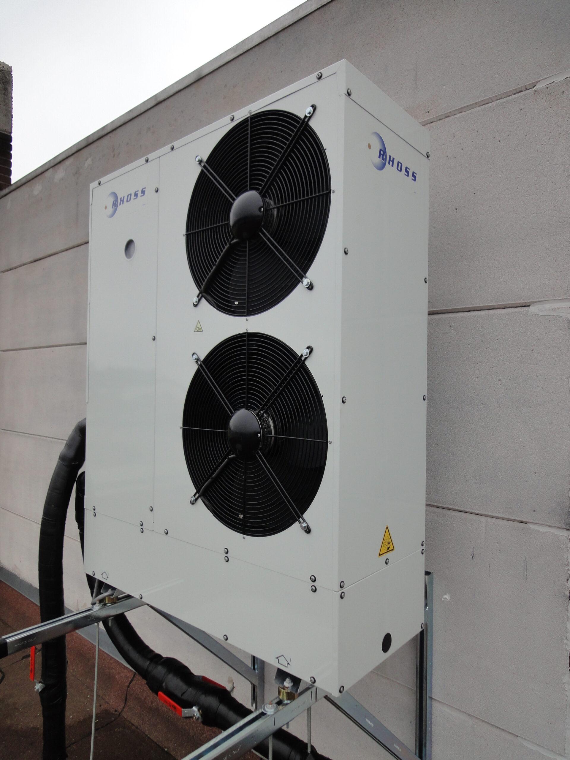 ClimaSan kantoren warmtepomp 3